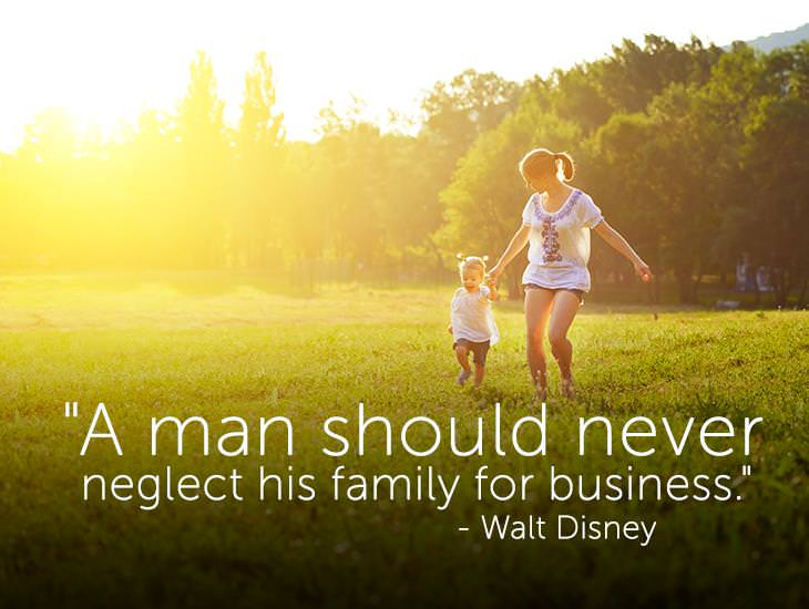 A Man Should Never Neglect His Family