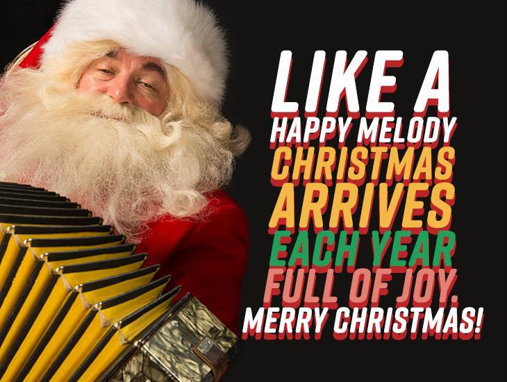 Like A Happy Melody, Christmas Arrives
