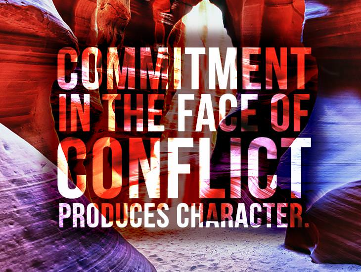 Commitment In The Face Of Conflict