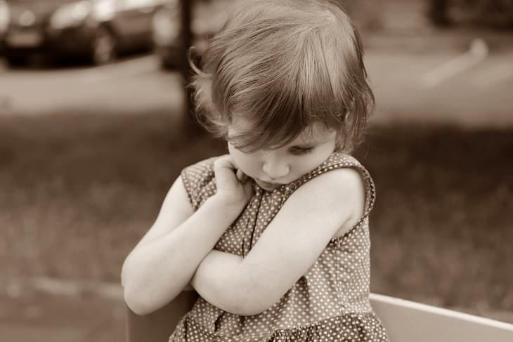 shy person
