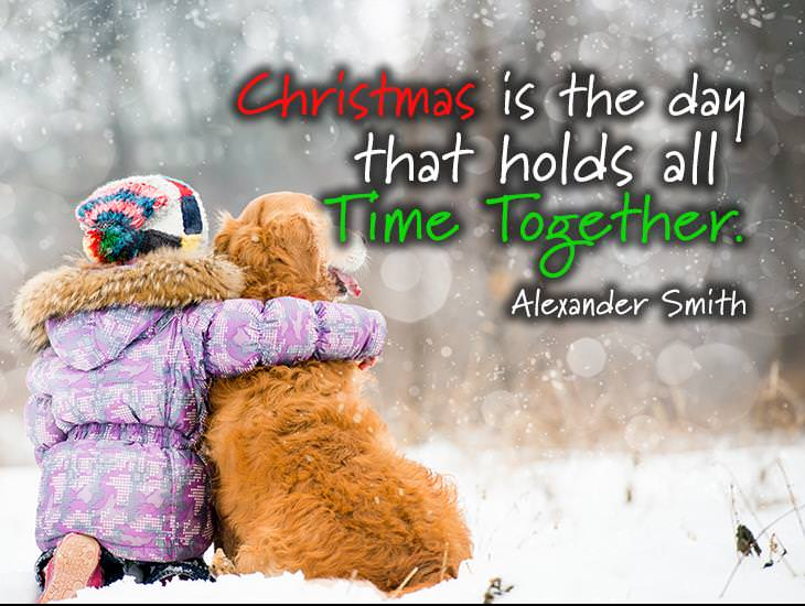 Christmas Holds Time Together