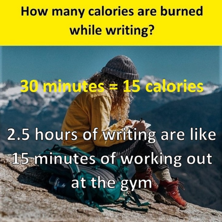 exercise calories