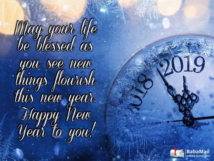 May New Things Flourish For You This New Year!