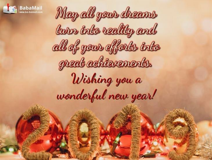 May All Your Dreams Turn into Reality This New Year's