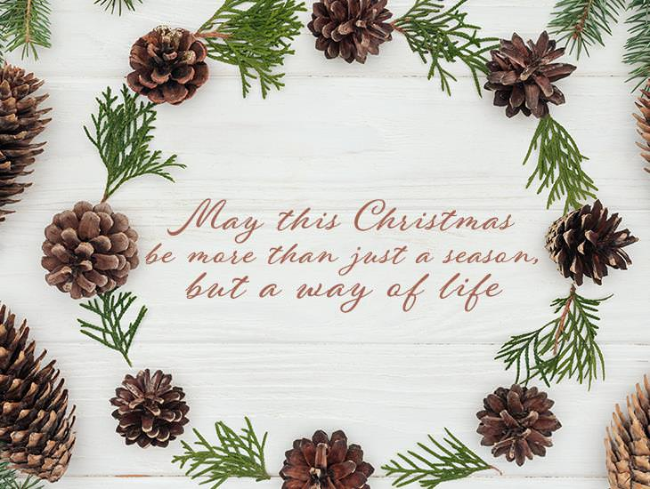 May Christmas Be More Than Just A Season