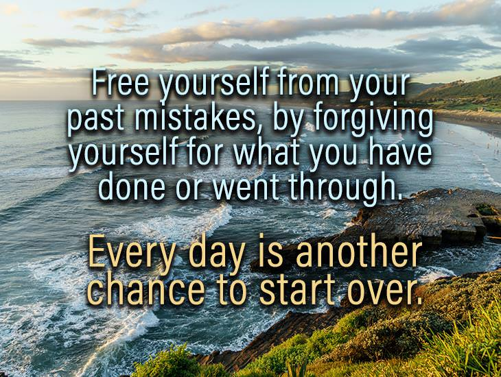 Free Yourself From Your Past Mistakes