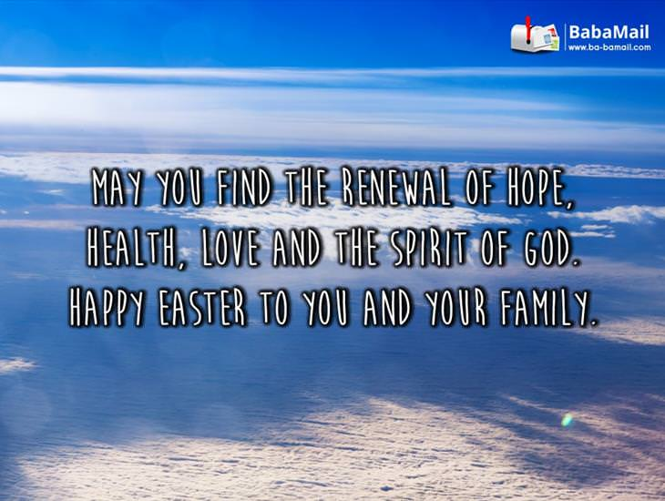 May Love and the Spirit of God Be with You This Easter