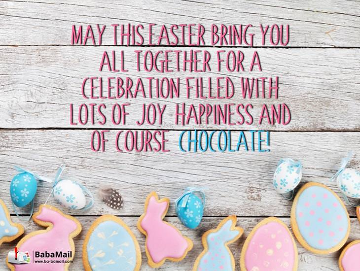 May Your Easter Be Blessed with Laughter and Chocolate