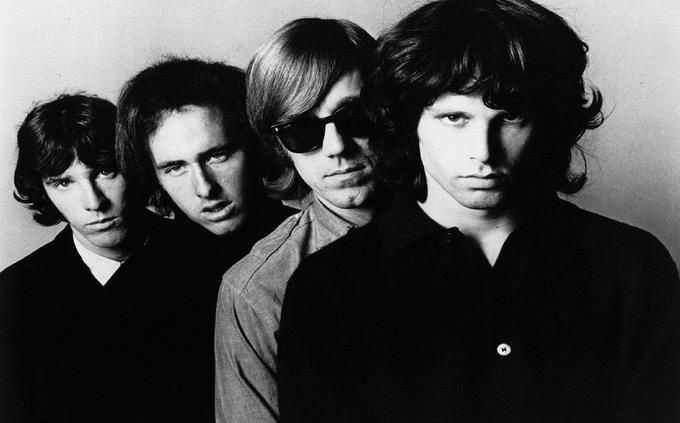 The Doors with lead singer Jim Morrison