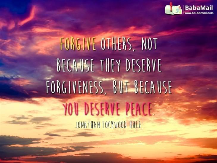 My Dearest Friend, You Deserve Peace