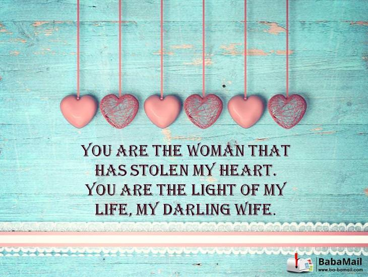 You Are the Only Woman For Me!