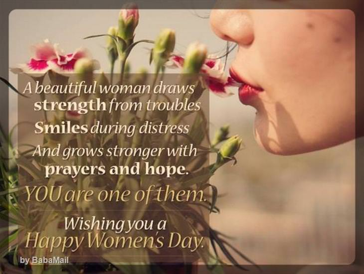 To the World's Most Beautiful Woman!