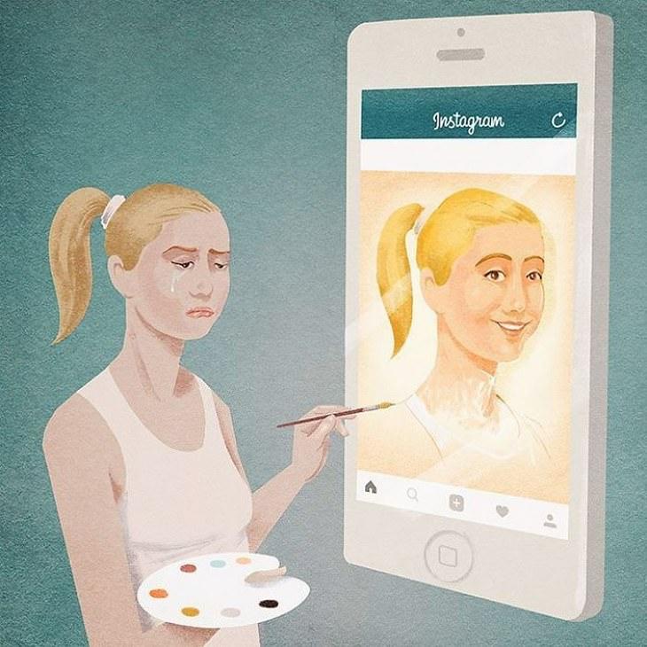 Modern Life illustrations