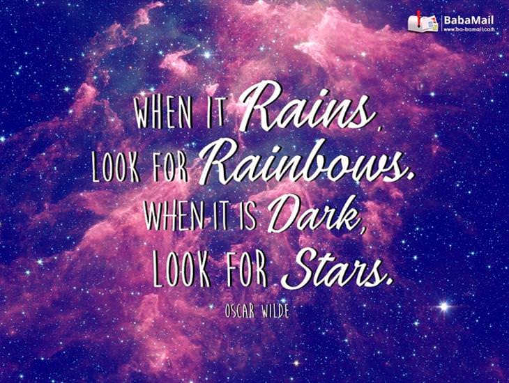 Whenever You're Feeling Hopeless, Look to the Stars