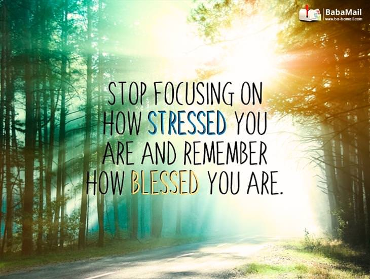 Remember How Blessed You Are!