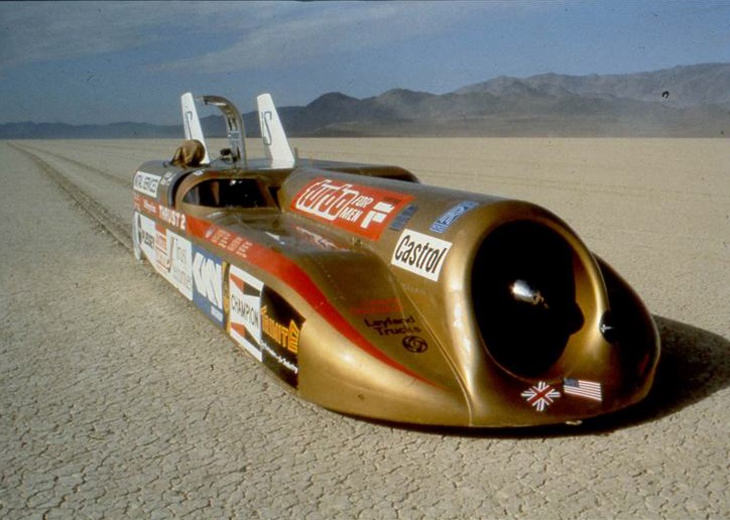 Cars That Broke the Land Speed Record