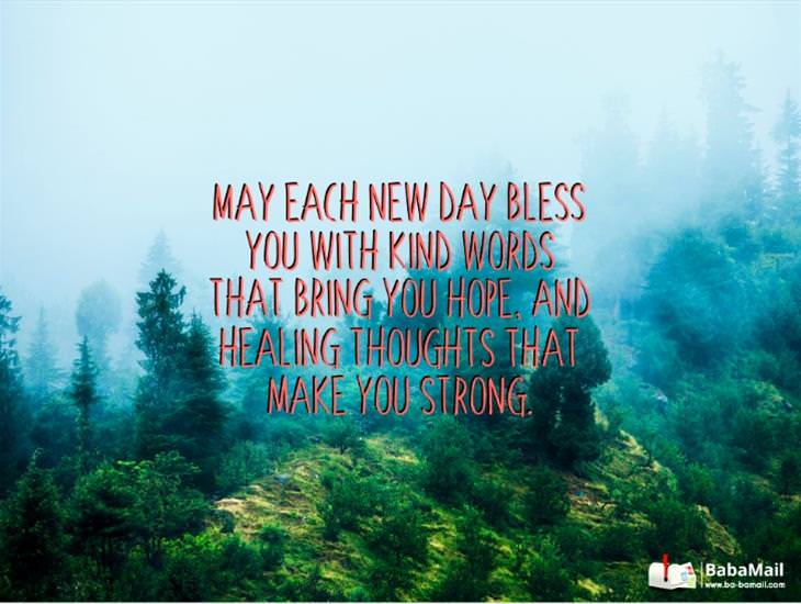 May Each Day Bring You New Hope!