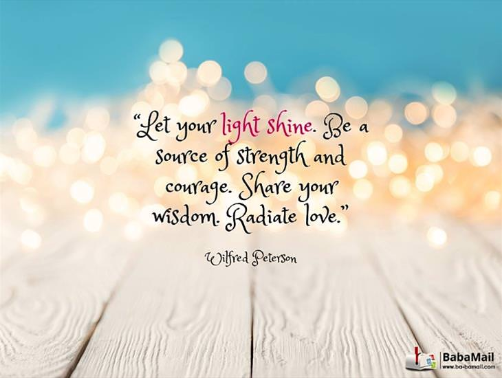 Let Your Light Shine Brightly for Others!