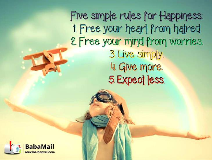 Discover the 5 Simple Rules of Happiness
