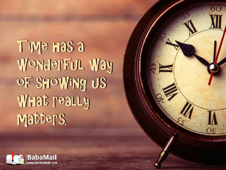 THIS Is What Time Teaches Us... Beautiful!