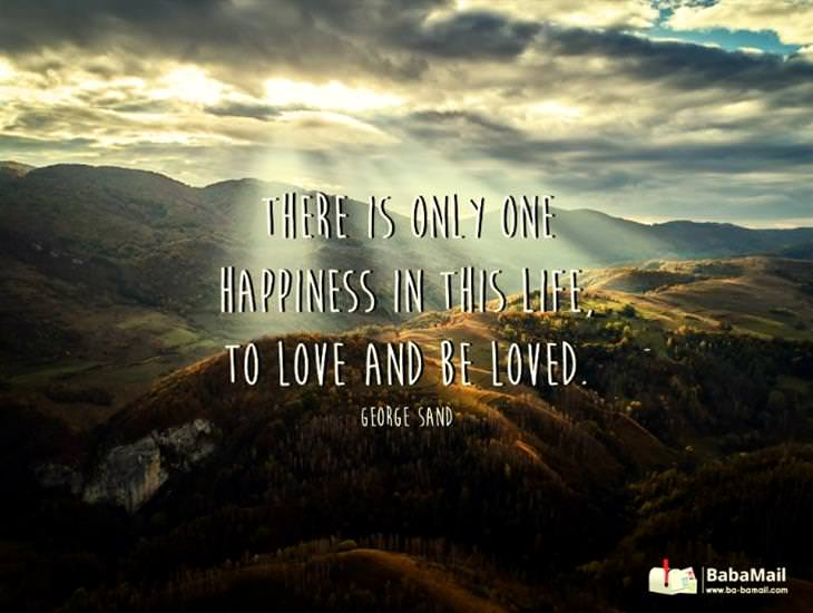 There Is No Happiness Greater than Love