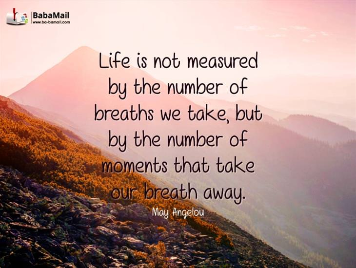 Life Is About the Moments that Take Your Breath Away!