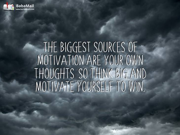 Your Thoughts Are Your Biggest Source of Motivation