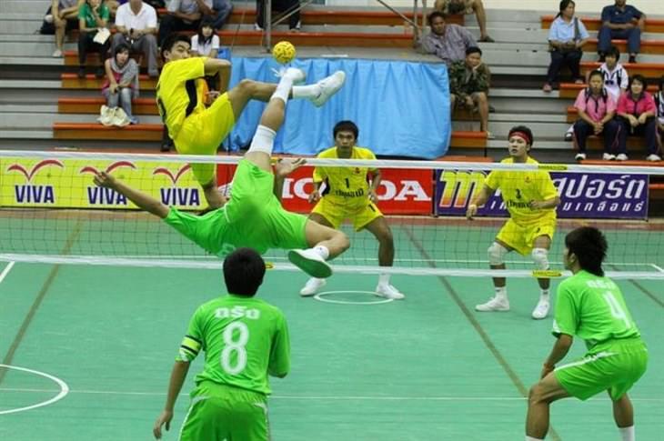 unusual sports - Sepak Takraw
