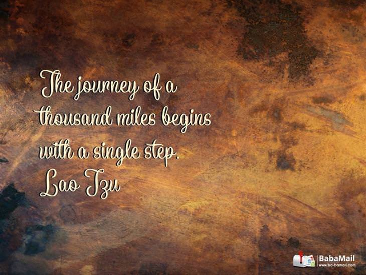 Let This Quote Inspire You to Take the First Step
