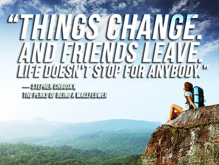 Friends Come and Go, Life Waits For No One!