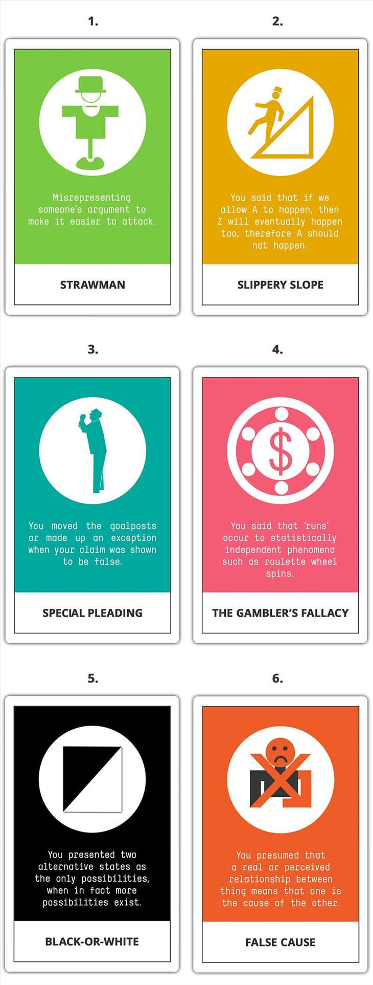 Avoid These Logical Fallacies