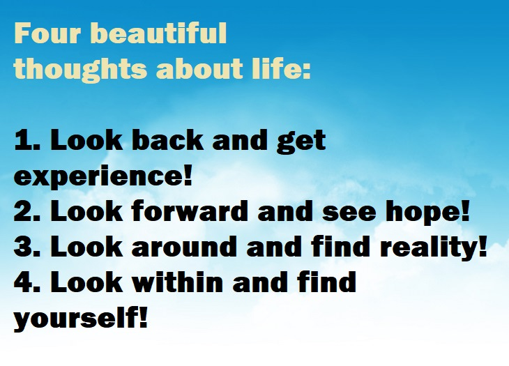 Some Powerful Thoughts About A Beautiful Life