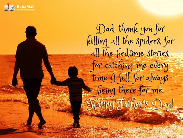 Dad! Thank You For Always Being There For Me