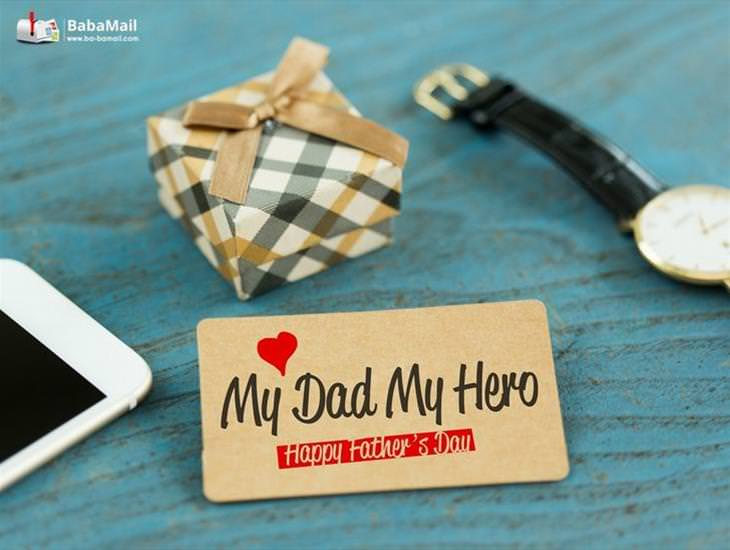 Dad, You Are My Hero!