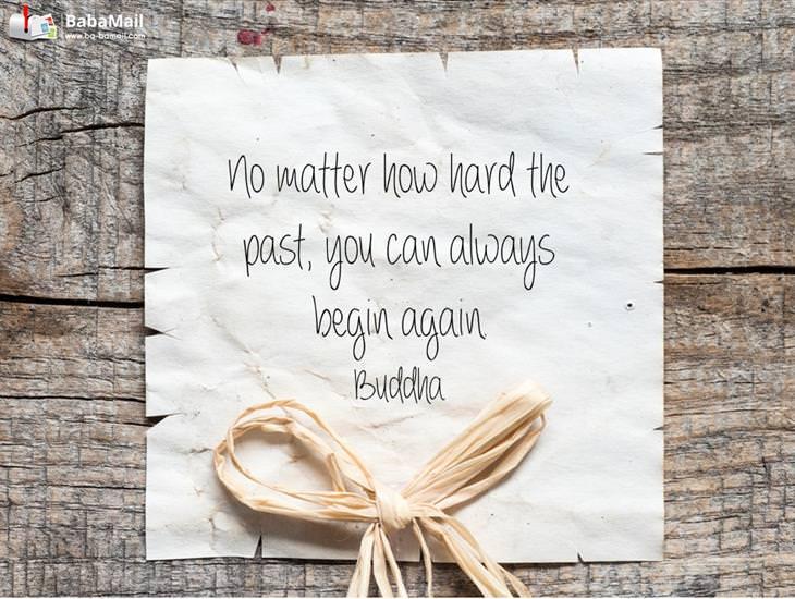 You Can Always Begin Again!