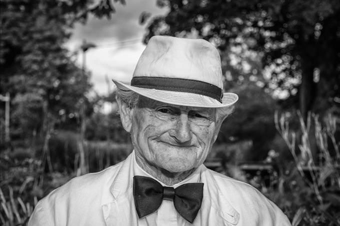 old photo of grandpa