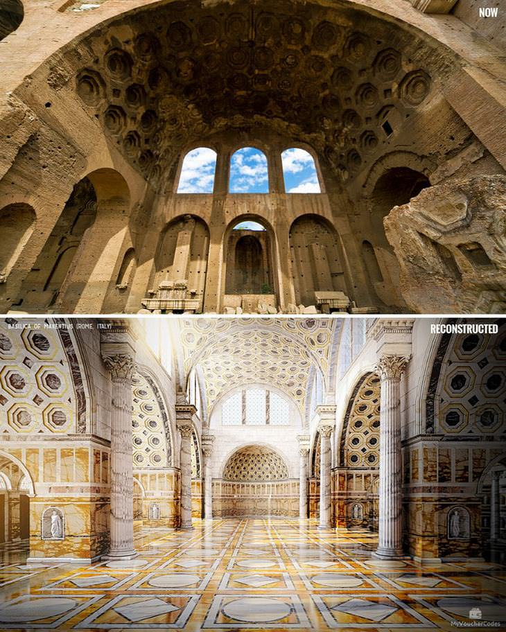 ancient ruins reimagined
