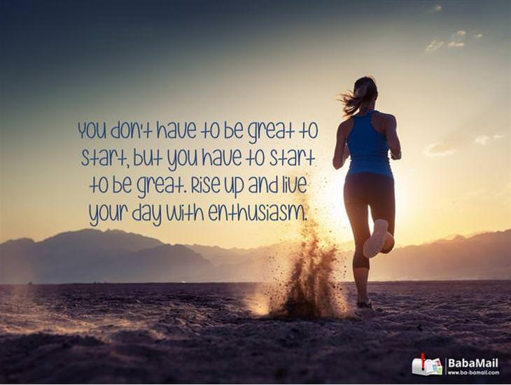 You Don't Have to Be Great to Start...