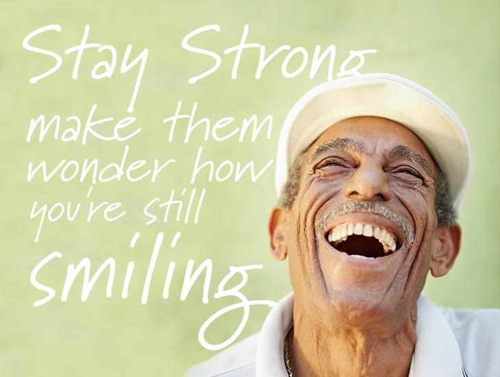 Keep Smiling and Make People Wonder!