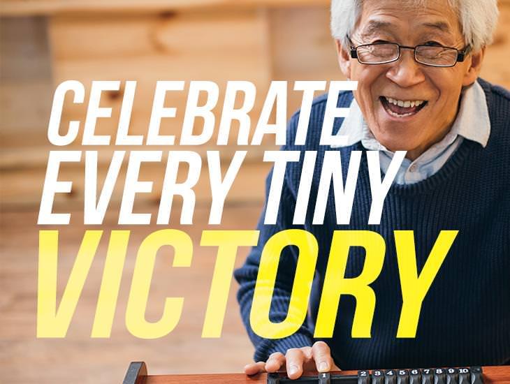 Celebrate Every Tiny Victory