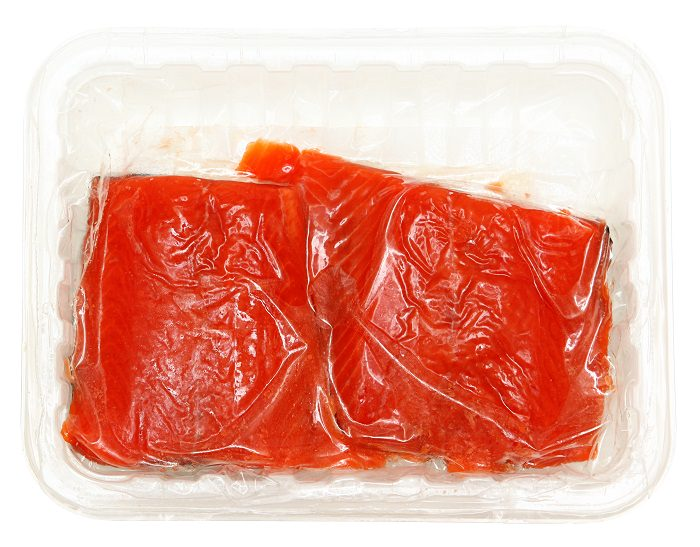Vacuum-Sealed Fish