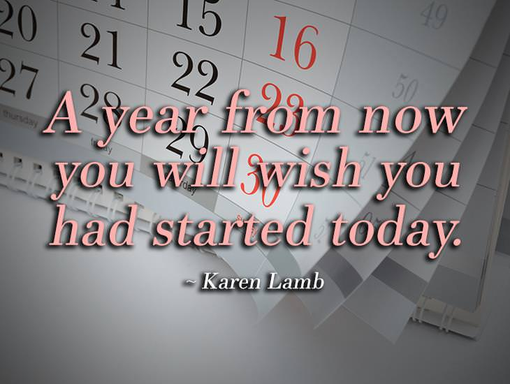 You Will Wish You Had Started Today