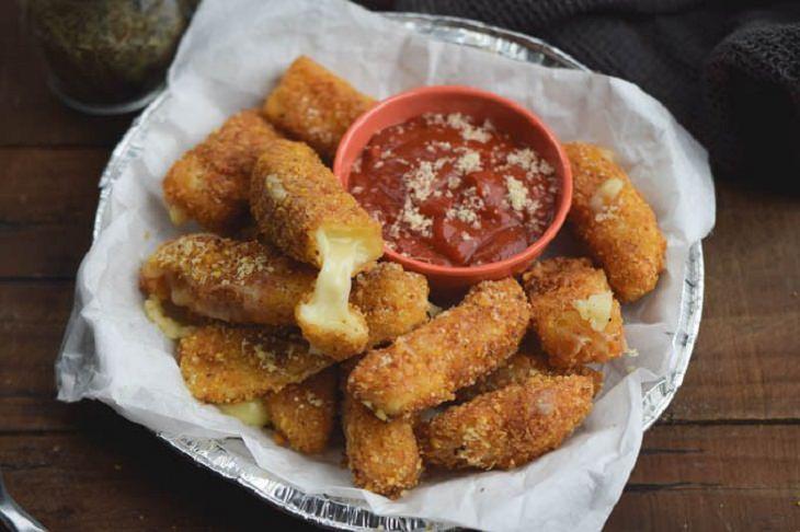 Mozzarella Sticks Recipe