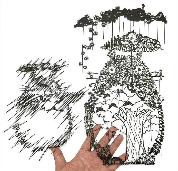 Mr Riu Paper Art