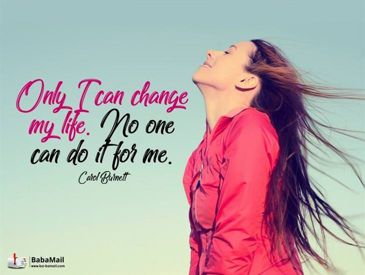 Only YOU Have the Power to Change Your Life!