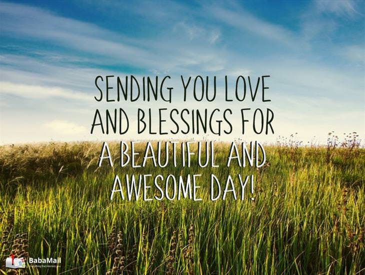 Sending You Love and Blessings!