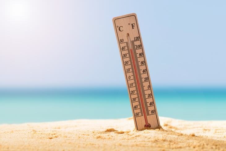 heat affects your ability to think straight