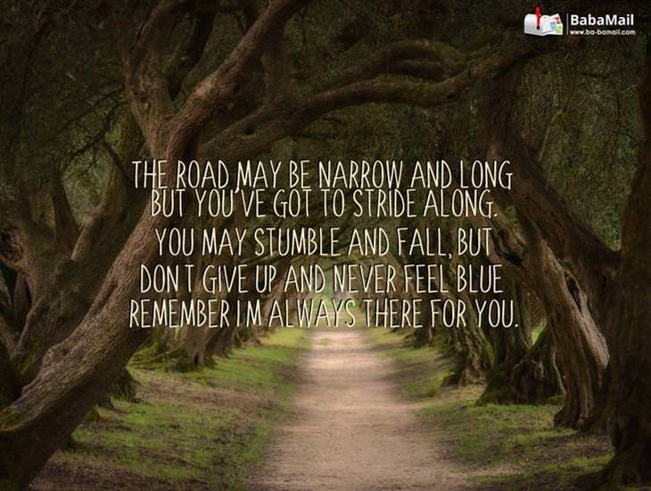 The Road May Be Narrow and Long... But Don't Give Up!