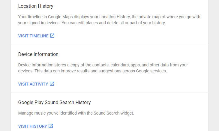 google-activity