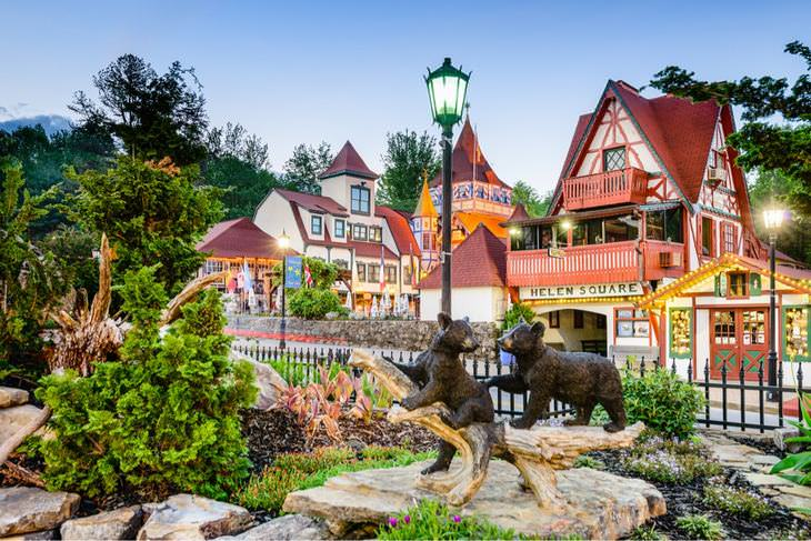 U.S. Towns that Look Just Like Europe